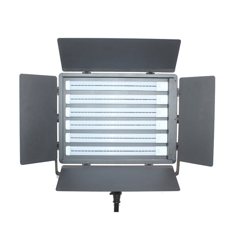 6管LED三ji色柔光灯